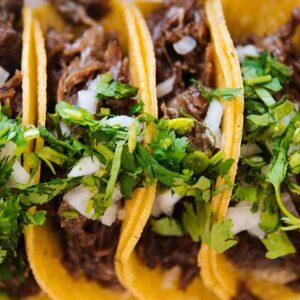 Goat Shank Taco recipe from Spice of Life Farm