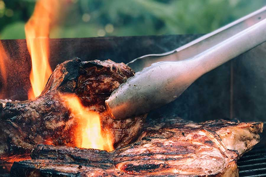 Grilled goat chops recipe from Spice of Life Farm