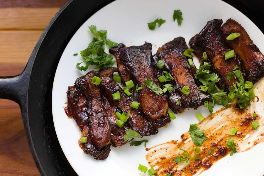 oven baked ribs recipe from Spice of Life Farm