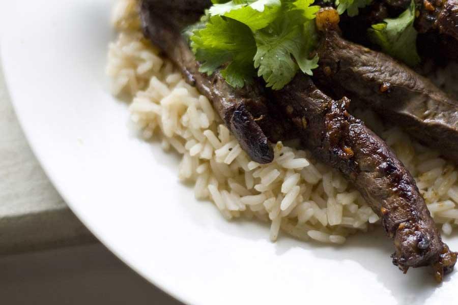 Cilantro Lime Rice recipe from Spice of Life Farm