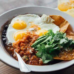 Huevos Rancheros recipe from Spice of Life Farm